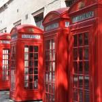 Cabinas rojas en Covent Garden