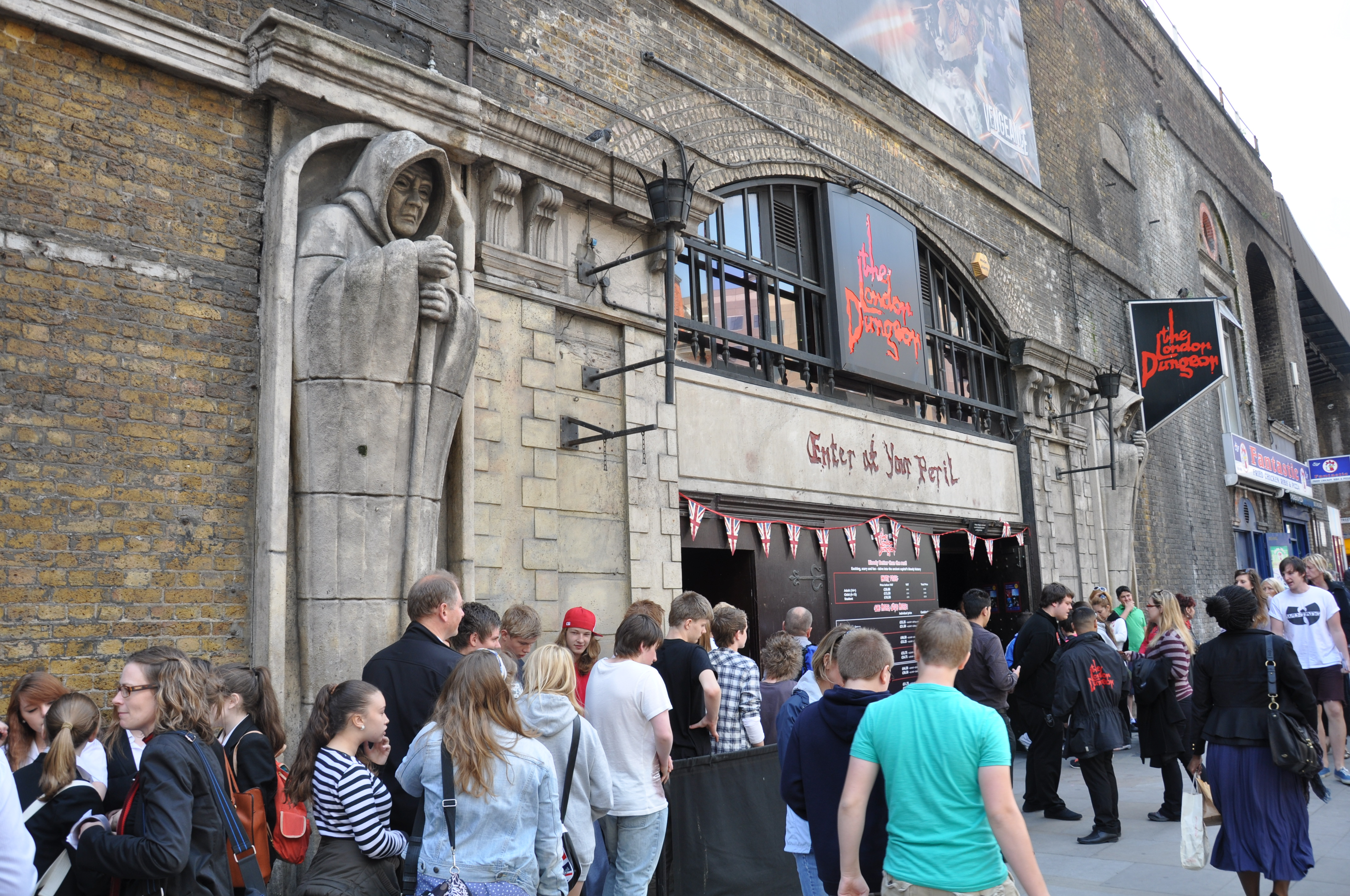 2 for 1 deals london dungeon