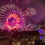 Fuegos artificiales y fin de año en Londres